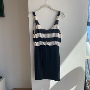 B&W mini dress (Alice + Olivia, size 4)